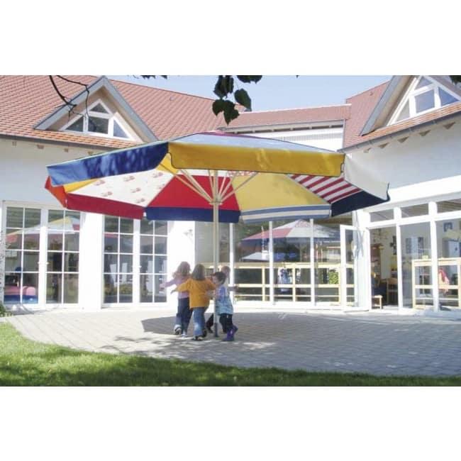 Sonnenschirm Kindergarten bunt