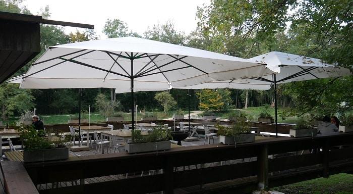 Restaurant Sonnenschirm Caravita