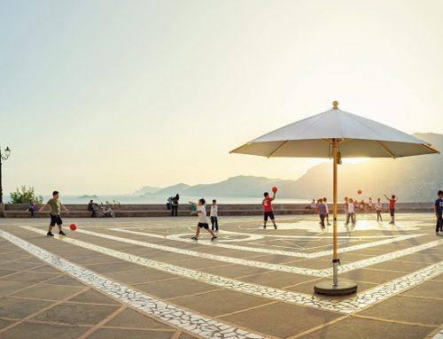 Glatz Sonnenschirm aus Holz: Piazzino