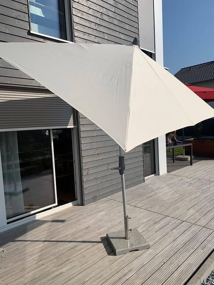 Sonnenschirm mit Kurbel 2x3 Meter
