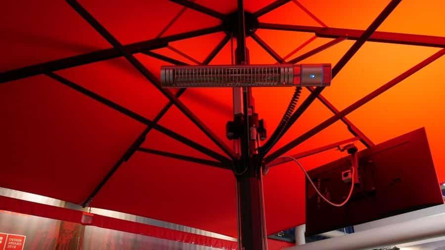 Jumbrella Heizstrahler Sonnenschirm